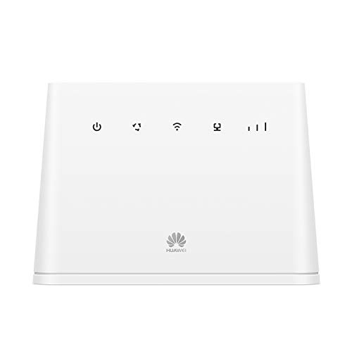 HUAWEI B311 2020, CAT 4, 4G/ LTE 150 Mbps Mobile Wi-Fi Router, Unlocked to All Networks- Genuine UK Warranty STOCK (Non Network Logo)- White