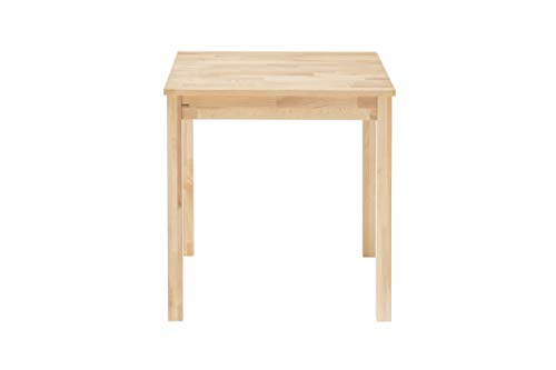 Robas Lund Alfons Dining Table Solid Beech Heartwood Oiled, Wood, natural, 70 x 50 cm