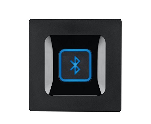 Logitech Wireless Bluetooth Audio Receiver, Bluetooth Adapter for PC/Mac/Smartphone/Tablet/AV Receiver, 3.5mm Audio and RCA Outputs to Speakers (Renewed)