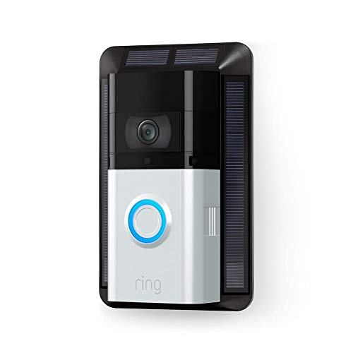 Solar Charger for Ring Video Doorbell 3 and Ring Video Doorbell 3 Plus
