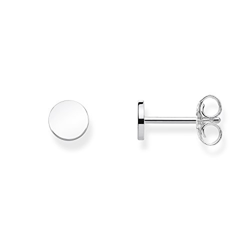 Thomas Sabo Women Ear Studs Coin 925 Sterling Silver H1969-001-12