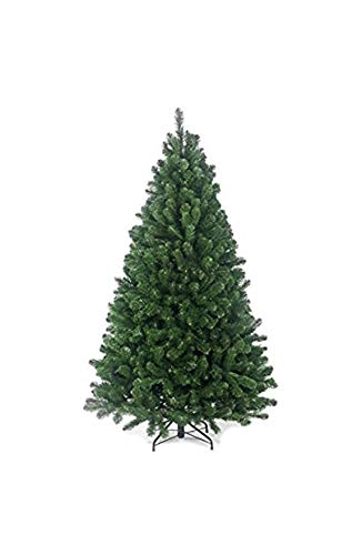 Abaseen Christmas Tree Xmas Tree Artificial Christmas Tree with 1000 Virgin Fire Retardant PVC Tips and Metal Stand (7ft/2.1m)