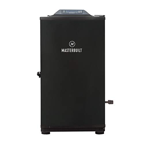 Masterbuilt MB20073420 Digital Electric Smoker with Bluetooth & Broiler, Black, 30-inch