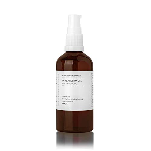 WHEAT GERM OIL WHEATGERM 100ml Unrefined Pure and ORGANIC Oil for skincare and hair care