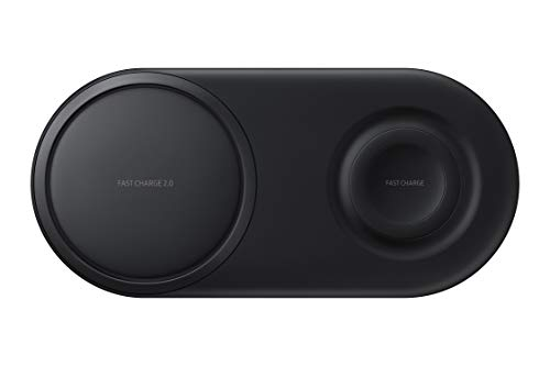 Samsung Original Wireless Fast Charger Duo Pad for Qi Enabled Devices, Black