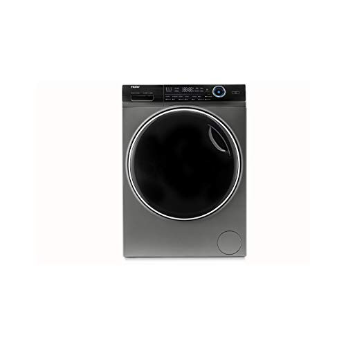 Haier HWD100-B14979S Freestanding Washer Dryer, Direct Motion and LED Display, 1400RPM 10kg/6kg Load, Graphite, Decibel rating: 72, EU Acoustic Class: C