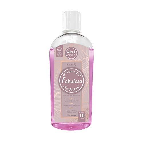 Fabulosa 220ml 4 in1 Disinfectant Electrify, Pink, 220 Millilitre