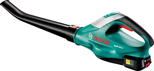 Bosch Home and Garden 06008A0571 18 V / 2.5 Ah Leaf Blower-210 km/h Blowing Speed