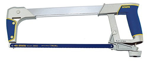 Irwin 10504407 I-125 New Professional Metal Hacksaw and Blade with Soft Grip, 300mm