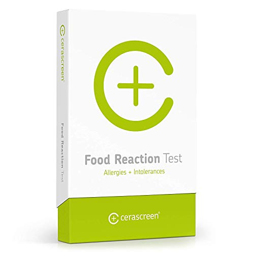 cerascreen® Food Reaction Test Kit – Quick and Easy to use Food Allergy & Intolerance Test   Health Screening   Comprehensive IgG4 & IgE screening   Determine Food intolerances and Allergies
