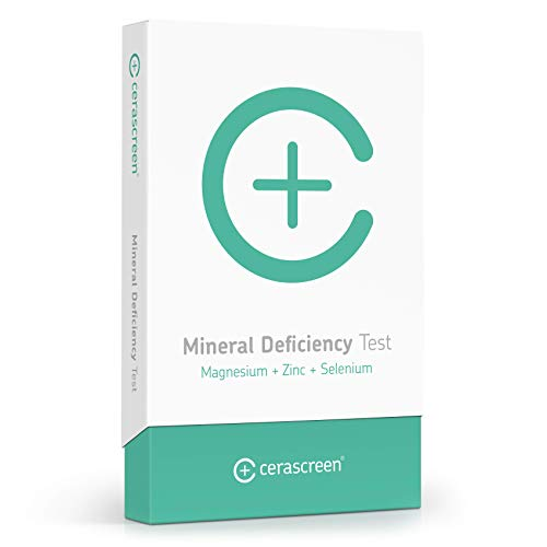 cerascreen® Mineral Deficiency Test - Determine Your Zinc, Selenium & Magnesium Levels Quick & Easy from Home   Mineral Analysis Test   Order Your Mineral Deficiency Test Online Now