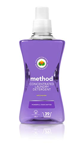 Method Concentrated Laundry Detergent, Wild Lavender, 39 Washes