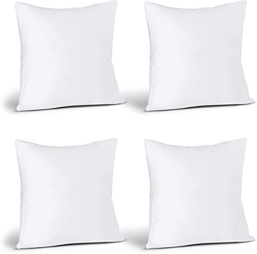 Utopia Bedding Cushion Inner Pads (Pack of 4) - Pillow Inserts 18