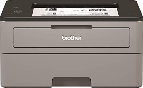 Brother HL-L2310D Mono Laser Printer - Single Function, USB 2.0, 2 Sided Printing, 30PPM, A4 Printer, Small Office/Home Office Printer, Light Grey/Black