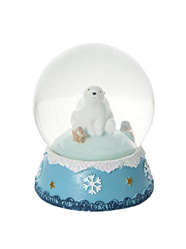 Mousehouse Gifts Snow Globe Polar Bear Decoration for Kids or Adults