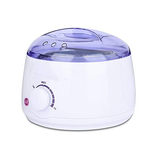 Professional Electric Wax Warmer and Heater for Soft, Paraffin, Warm, Crème and Strip Wax   Wax Melter for Hair Removal with Adjustable Temperature for Salon Quality Results