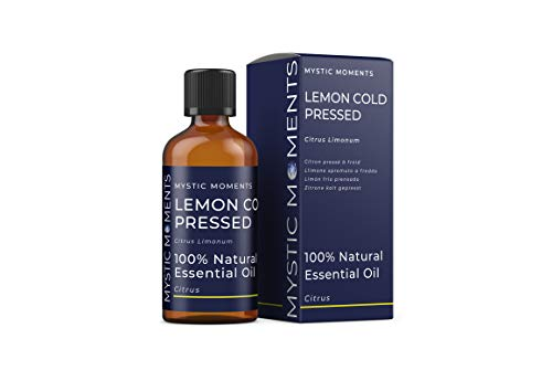 Mystic Moments | Lemon Cold Pressed Essential Oil - 100ml - 100% Natural