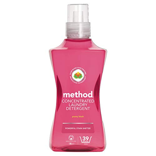 Method Concentrated Laundry Detergent, Peony Blush, 39 Washes
