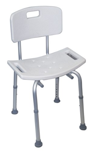 Aidapt Shower Stool with Back (Eligible for VAT relief in the UK)
