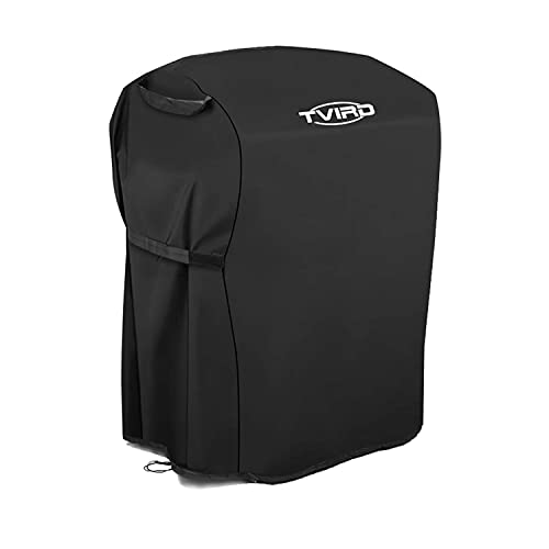 Tvird BBQ Cover, Barbecue Cover Waterproof Heavy Duty Oxford Fabric, BBQ Grill Cover Windproof & Anti-UV 30'' Small Gas BBQ Cover for Weber, Brinkmann, Char Broil etc (30 inch / 76 cm)