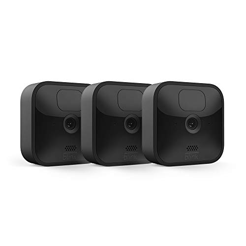 Blink Outdoor   Wireless, weather-resistant HD security camera with two-year battery life, motion detection   3-Camera System