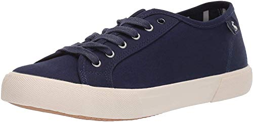 Joules Women's Coast Pump Trainer, Blue (French Navy Frnavy), 6 UK