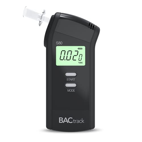 BACtrack S80 Breathalyser | Professional-Grade Accuracy | DOT & NHTSA Approved | FDA 510(k) Cleared | Portable Breath Alcohol Tester for Personal & Professional Use