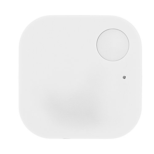 Bluetooth Tracker, Key Finder. Phone Finder. iOS/Android Compatible (White)
