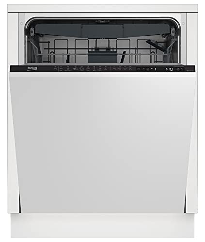Beko din28430Fully Integrated Fully Integrated Dishwasher–Dishwasher Safe (14places A + + +, 44dB, Full Size (60cm), LCD, 14, White)