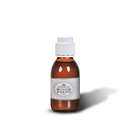 The Blessed Seed Original Black Seed Oil - 100 mL - 100% Pure and Cold Pressed Liquid, Antioxidant, Immune Booster, and Health Supplement