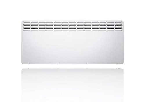 Stiebel Eltron Convector CNS 300 Trend UK Wall mounted electric panel heater, 3000 W for about 30 sqm, LED, 7-day timer, frost + overheating protection, open window detection, Lot 20 compliant, 236565