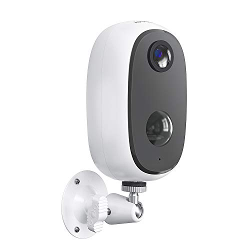 ieGeek Wireless Security Camera Outdoor with Rechargeable Battery Power,1080P 2.4G Wifi Surveillance CCTV Camera,IP65 Waterproof,Human Motion Detection,Night Vision,2-Way Audio,Cloud&SD,Battery-Camera