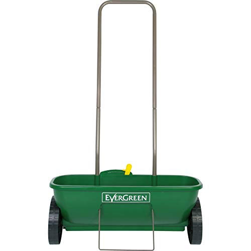 EverGreen Easy Spreader Plus, Grass and Lawn Seed Spreader, for Easy Application of Lawn Products and Grass Seed, 620.0 mm*240.0 mm*300.0 mm