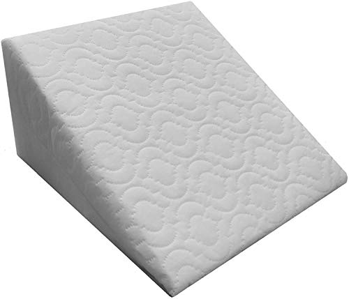 M&A styles offer Bed Wedge Pillow for Back Pain Snoring Gerd Acid Reflux Heartburn Indigestion Respiratory Problems. Ideal Sleeping Reading Rest Elevation Orthopedic Foam Antibacterial Hypo Allergenic