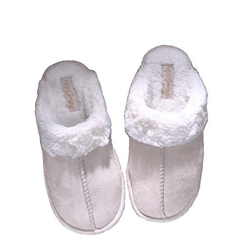 Ladies Slippers Women Size 6 7 8 Womens Womans Slippers Lady Slippers Fluffy Slippers Women Size 4 5 Fuzzy Slippers Mule Slipper Warm Indoor Slippers Bedroom Slippers S10 (7/8 UK, A)