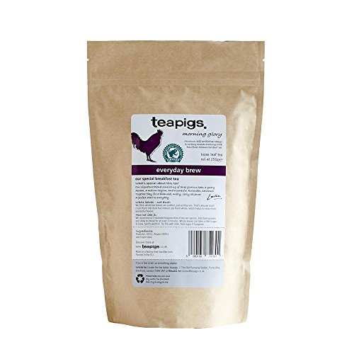 Teapigs Everyday Brew Black Loose Tea Made With Whole Leaves (1 Pack of 250g Loose Tea)