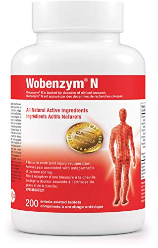 Wobenzym N 200 Enteric-Coated Tablets
