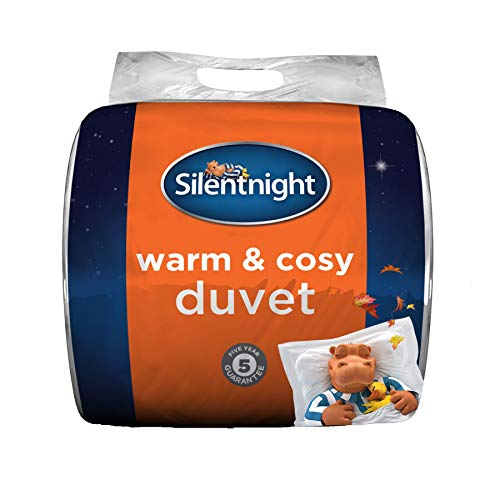 Silentnight Warm And Cosy 13.5 Tog Duvet Winter Hollowfibre Quilt, Hypoallergenic, Double