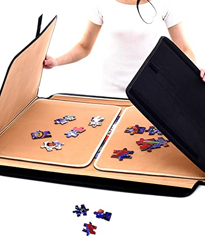 Jaques of London Jigsaw Board   Jigsaw Puzzle Mat   Jigsaw Puzzle Boards and Storage Saver   Portable Puzzle Board   Up to 1000 Piece