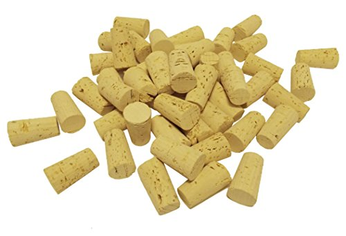 Pack of 25 New Tapered Corks for Wine Home WINEMAKING Bottles