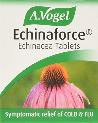 A.Vogel Echinaforce Echinacea Tablets | Relieves Cold & Flu Symptoms by Strengthening the immune System | 42 Tablets
