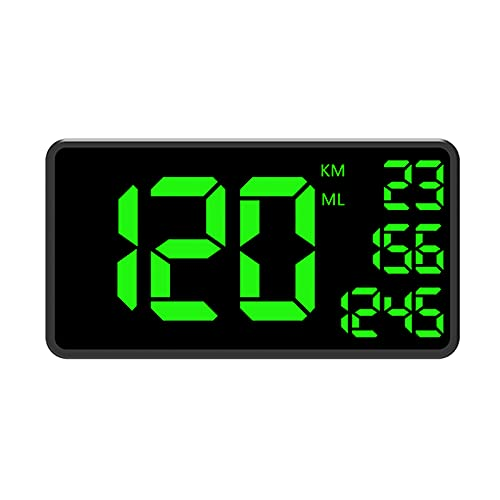 GPS Speedometer Speed Meter MPH / KMH, GPS Speedometer Speed Meter Car HUD Head Up Display, Speed Warning, USB Charger Available, For All Vehicles, Bicycle, Motorcycle