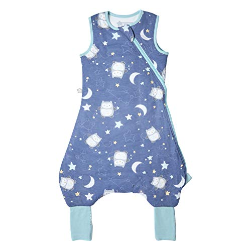 Tommee Tippee Baby Sleeping Bag with Legs, The Original Grobag Steppee, Baby Romper Suit, Soft Cotton-Rich Fabric, 6-18m, 2.5 Tog, Ollie Dreams