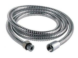 S AND S Stainless Steel Chrome Flexible 1.5M Shower Head Hose Bathroom Pipe