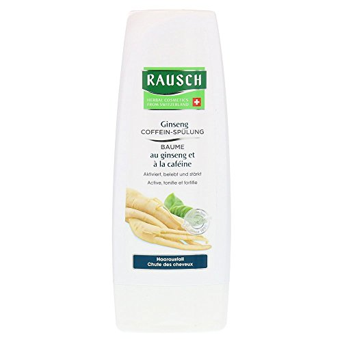 Rausch Ginseng Caffeine Conditioner (with High-Quality Extracts of Ginseng, Guarana, Tiger Grass and Stimulating Caffeine - Vegan), Pack of 1 (1 x 200 ml)