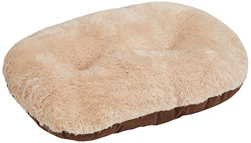 Gor Pets Nordic Oval Cushion for Dog Bed Comfortable Washable , 24-inch, Brown