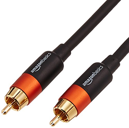 Amazon Basics Digital Audio Coaxial Cable - 1.22 meters