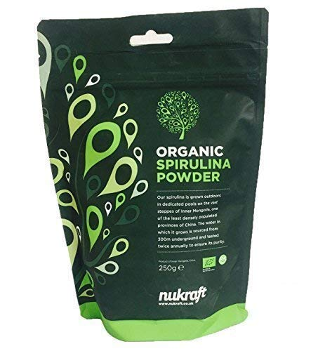 Organic Spirulina Powder by Nukraft: (Available in 250g, 500g, 1kg and 25kg)