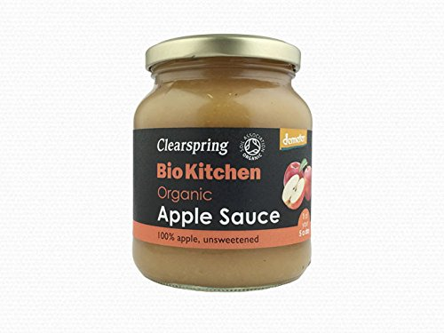 Clearspring Organic Apple Sauce 360g (Pack of 6)