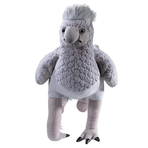 The Noble Collection Buckbeak Collector's Plush Officially Licensed 15in (38cm) Harry Potter Toy Dolls Grey Hippogriff Plush - For Kids & Adults